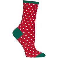 Small Polka Dots Red