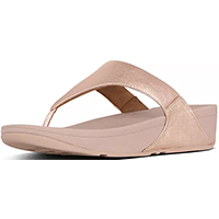 Lulu Leather Toepost Rose Gold