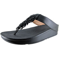 Rumba Toe-Thong Black