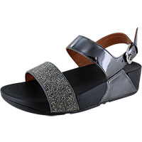 Ritzy Back-Strap Pewter
