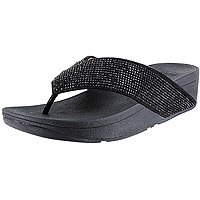 Ritzy Toe-Thong Black