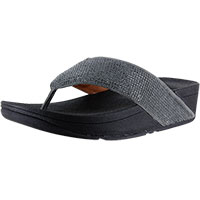 Ritzy Toe-Thong Pewter