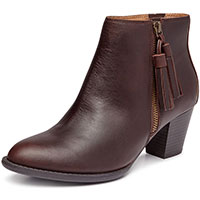 Madeline Chocolate Leather