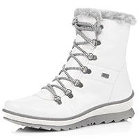 R8472 Tex Boot White Pat