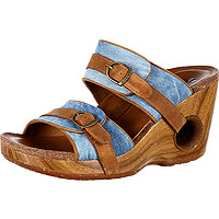 Splendor Tan Blue Denim