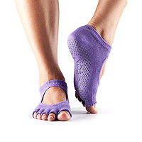 Grip Half Toe Bella Light Purple