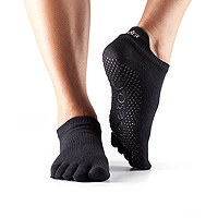 Grip Full Toe Low Rise Black