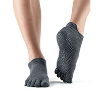 Grip Full Toe Low Rise Charcoal/Grey