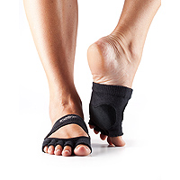 Dance Half Toe Releve Black
