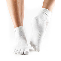 Sport PD Medium Weight Ankle White