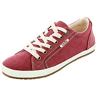 Ruby Red Wash Canvas