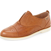 Santorini Loafer W7G-3517 Brandy