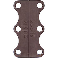Zubits Closures Size 2 Adults/Teens Brown