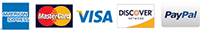 Credit Crds we Accept - Master Card Visa Discover American Express Pay Pal