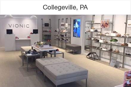 Vionic The Store Collegeville PA